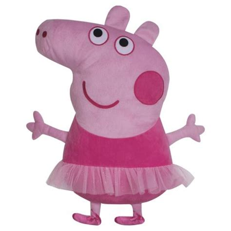 peppa pig chair tesco buy peppa pig ballerina shaped cushion from our peppa pig