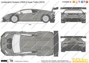 the blueprints vector drawing lamborghini huracan