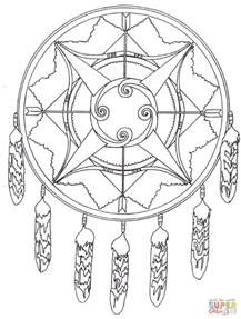dreamcatcher coloring pages catcher coloring pages to and print for free