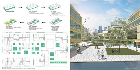 Residential Plan ideal housing typology by nastaran shishegar