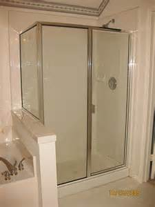 frame shower doors framed glass shower door