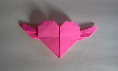 tutorial origami bentuk love cara membuat origami hati origami love youtube