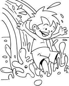 the color of water pdf free water park coloring page free water park