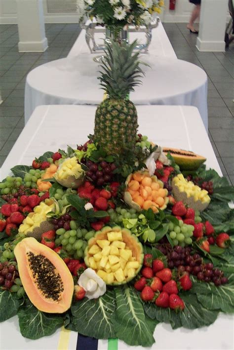 fruit centerpieces for tables 25 best ideas about fruit tables on