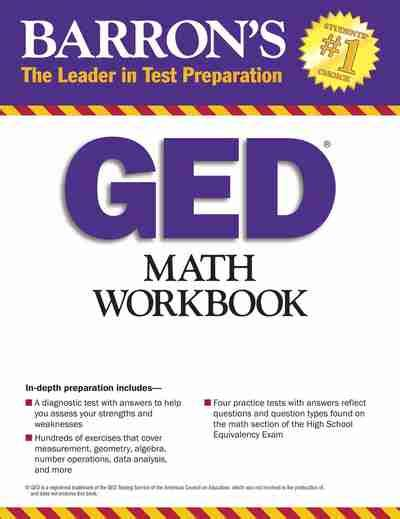 ged math workbook 2018 the most comprehensive review for the math section of the ged test books barron s ged math workbook newsouth books