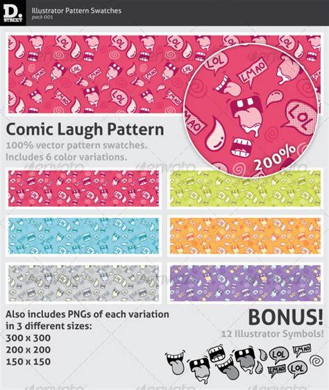 ai add pattern comic laugh pattern graphicriver