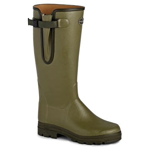 wellington boots vierzon leather lined wellington boots