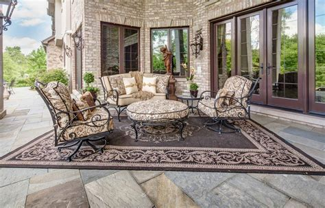 Luxury Outdoor Patio Furniture Luxury Outdoor Patio Furniture And Rug