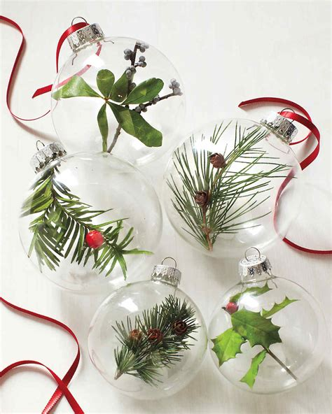 DIY Christmas Ornament Projects | Martha Stewart Xmas Ornaments To Make