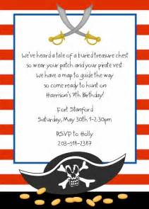 pirate birthday party invitations gangcraft net
