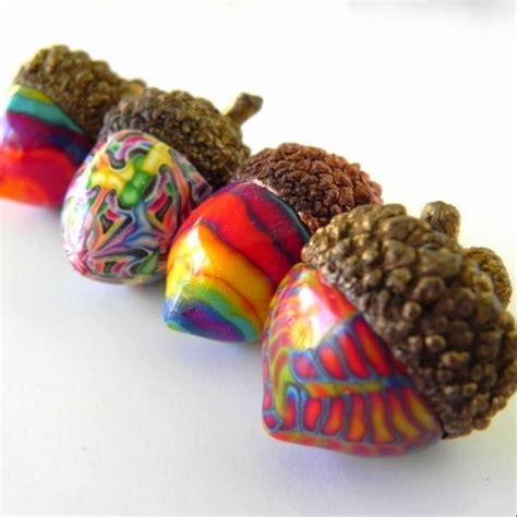 cute acorn pattern dishfunctional designs acorn crafts home decor craft