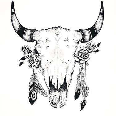 fantastic amazing bull skull tattoo 99 masculine designs for and guys