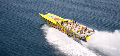 yacht boat ride miami speedboat rides miami thriller speedboat tours miami