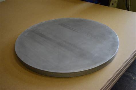 round zinc table top zinc table top metaltoppedtables com