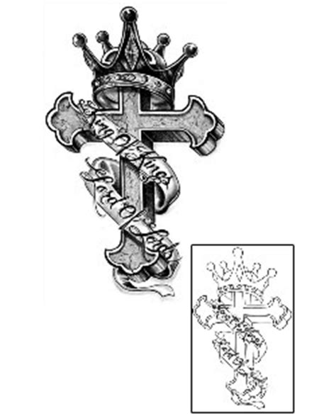cross tattoo king of kings lord of lords cross tattoo design haf 00014 tattoojohnny com