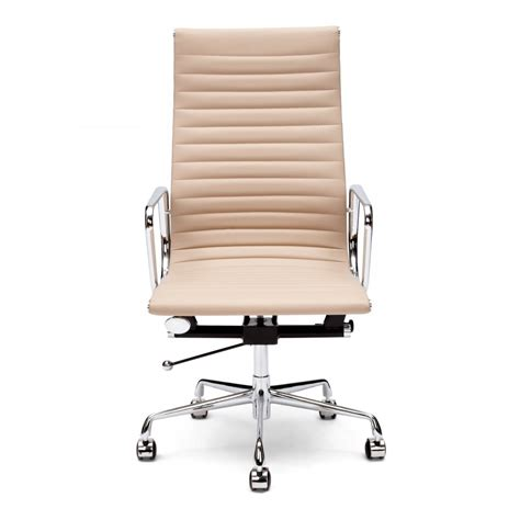 office bench seating beige ribbed style office chair cult uk
