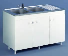 attractive Meuble Sous Evier 120 #1: meuble-sous-evier-blanc-120cm-3p-azur-200337-hd.jpg