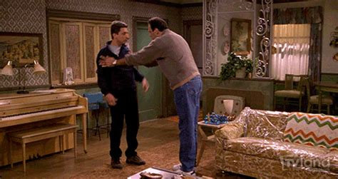 Free Living Room Fighting Television Fighting Gif By Tv Land Classic Find