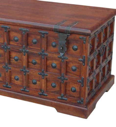 rajputana decorative storage trunk by mudra