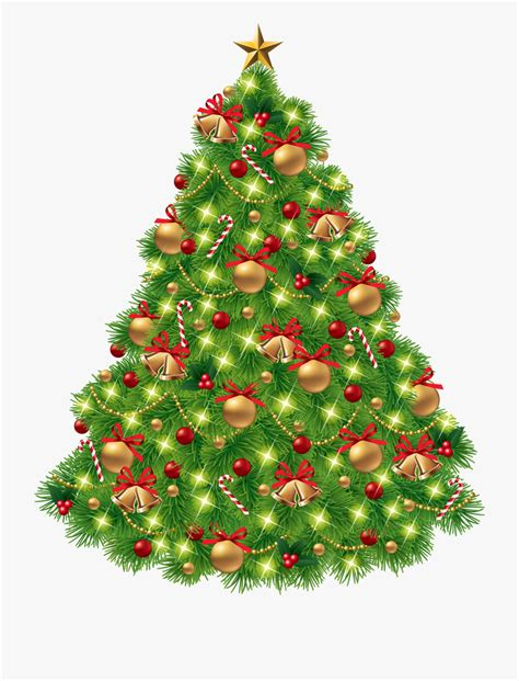 christmas tree png clipart transparent background