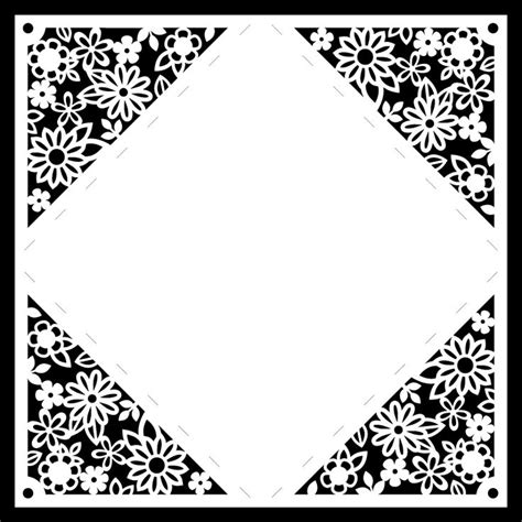 Square Pop Paisley Sea Flower 130 best images about laser cut files on