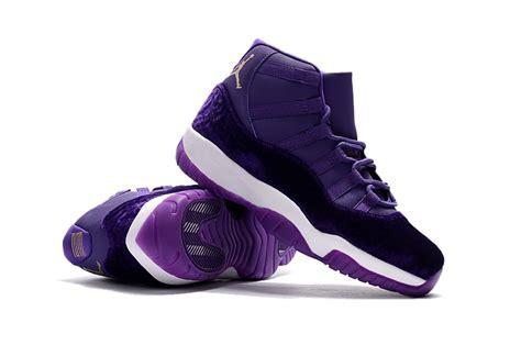 newest sneakers out 2017 air 11 purple velvet jordans 2017