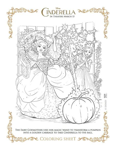 real cinderella coloring pages disney cinderella fairy godmother printable coloring page