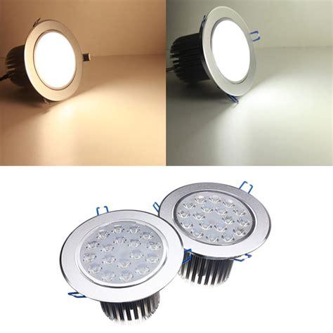 18w bright led recessed ceiling light 85 265v