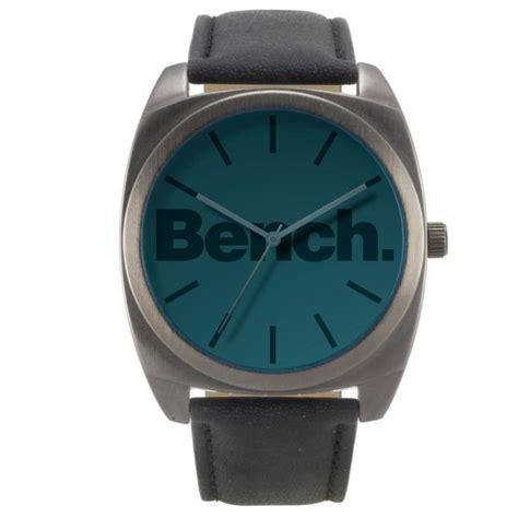 watch bench bench men s oversized blue dial watch clothing thehut com