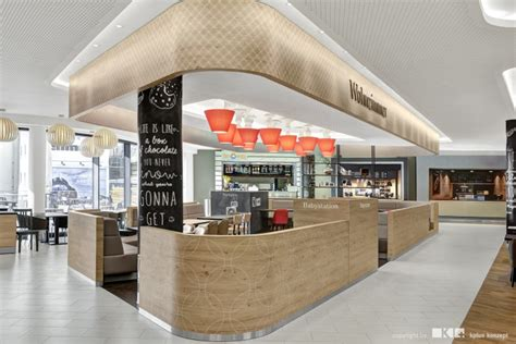 food court shop design minto shopping mall by kplus konzept m 246 nchengladbach