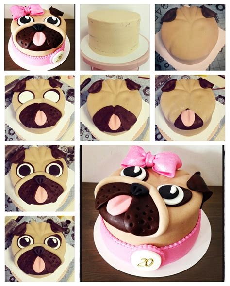 how to your pug wonderful diy pug cake