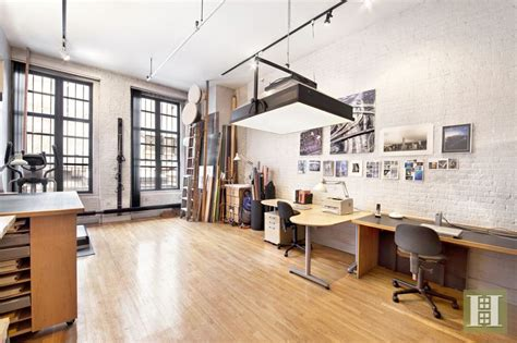Full Floor Loft With an Actual Artist's Studio Asks $3M in