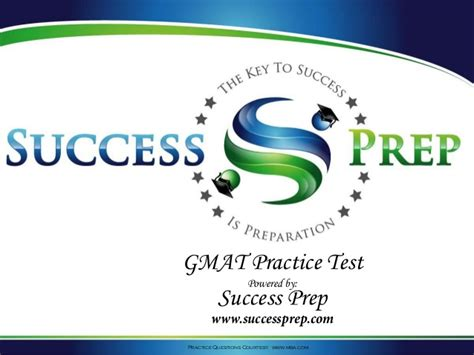 Gmat Practice Tests Mba by Success Prep Gmat Practice Test 2