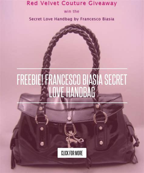Velvet Couture Giveaway Francesco Biasia Secret Handbag by Freebie Francesco Biasia Secret Handbag Fashion