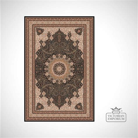 Victorian Rug Style Na1285 Black And Gold Rugs Style Rug