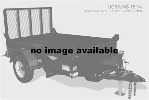 sa 9 15 utility bench 2015 h h udb5 5x8 15 sa utility dump box single axle