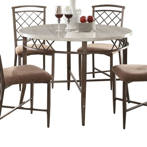 acme marble dining table acme aldric marble top dining table in faux marble