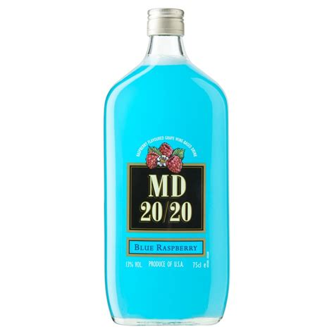 mad wine mad md 20 20 blue raspberry fortified wine 75cl buy cheap price uk