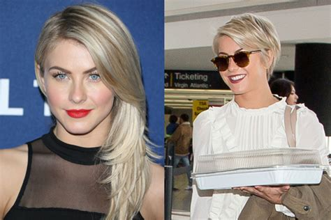 how does julianne hough style her pixie cut julianne hough gets a pixie cut