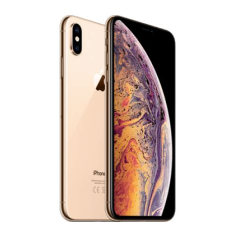 apple iphone xs max 6 5 inch 256gb gold mt552zd a