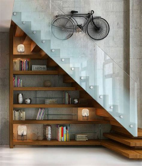 under stairs library design 22 cool ways to fill your stairs with bookshelves home design and interior