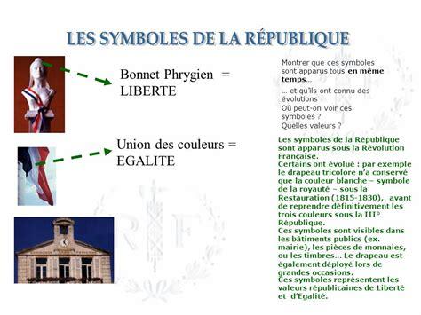 est le symbole de la dsinvolture et a eu son heure de gloire fin des les symboles de la r 201 publique une devise grav 233 e sur le