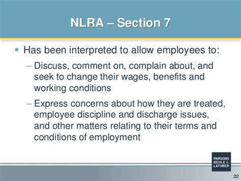 flsa section 7 section 7 of the national labor relations act 28 images
