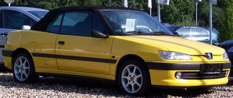 peugeot yellow file peugeot 306 cabrio yellow rv jpg wikipedia