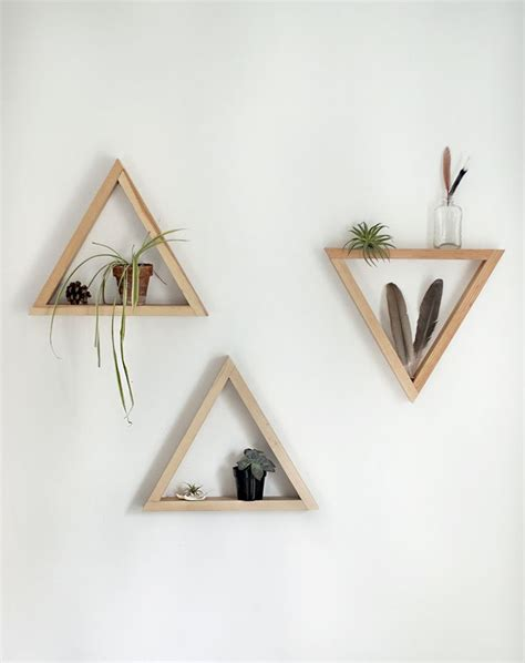 Triangle Wall Shelf 25 best ideas about triangle shelf on pinterest rock