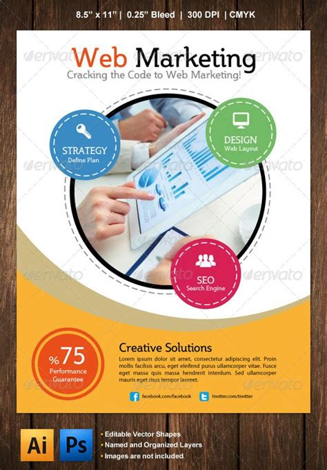 marketing flyer graphicriver marketing flyer is ideal for