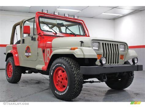 jurassic jeep blue 1994 jurassic park jeep wrangler se 4x4 59689442