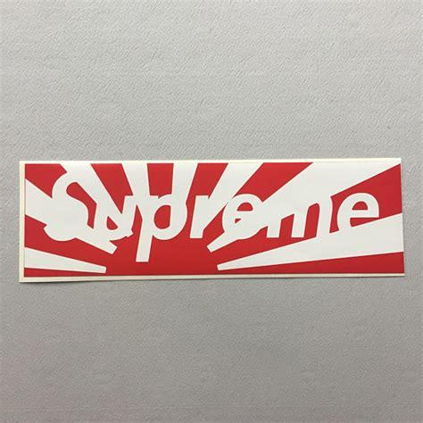 supreme japan supreme japan box logo sticker