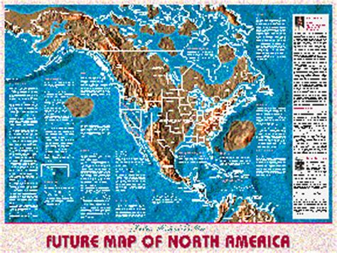 future map of america possible maps of the future