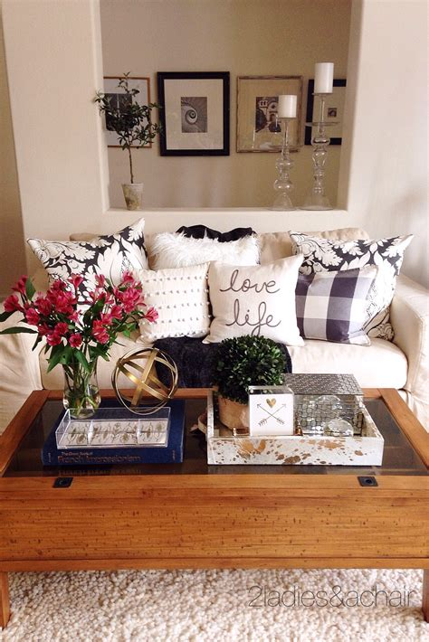 decorating your coffee table decorating your coffee table 2 a chair